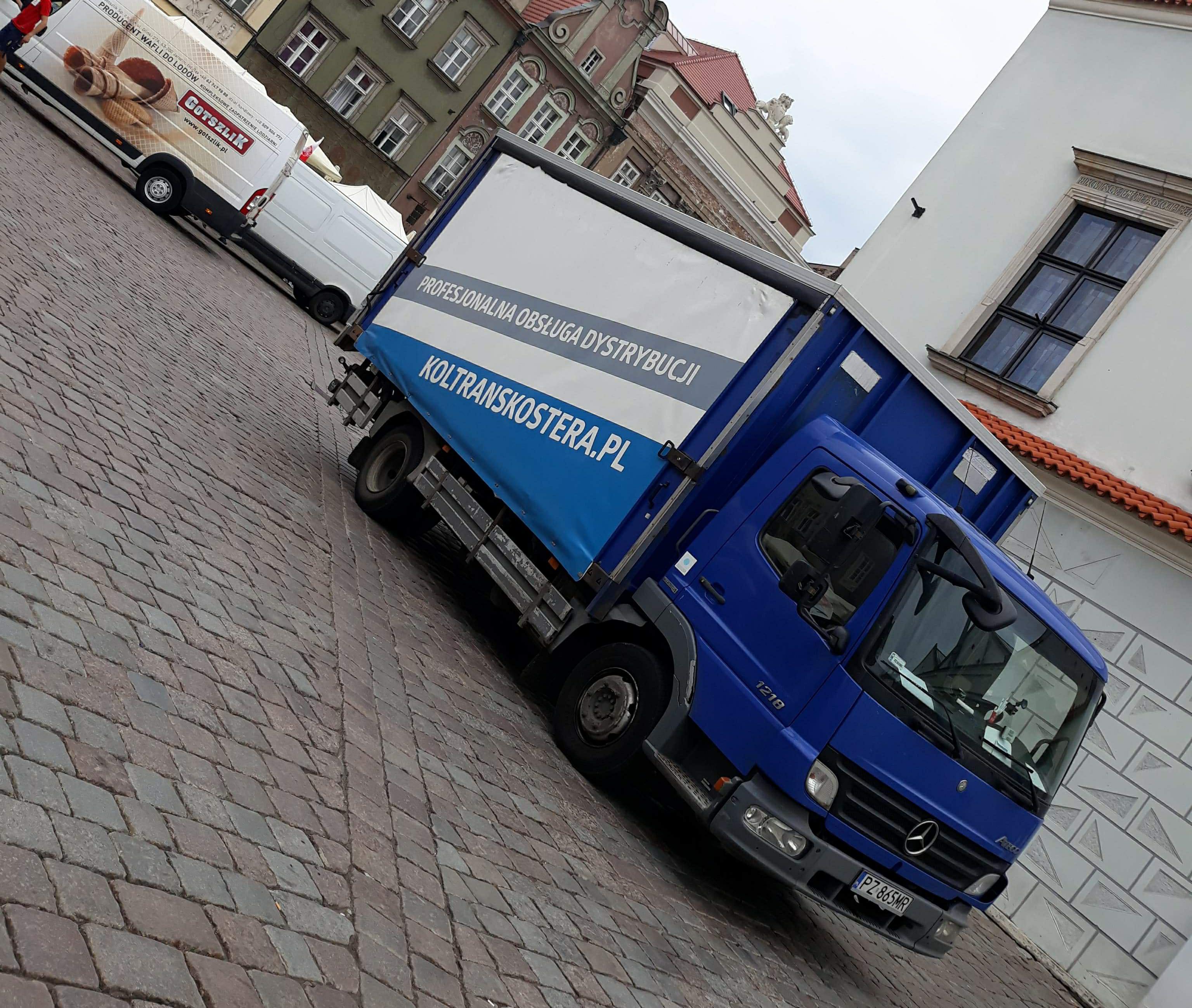 Auta ciężarowe